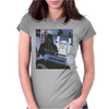 Grey Marl Star Wars Rollercoa Womens Fitted T-Shirt