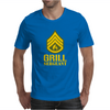 Grill Sergeant Military Mens T-Shirt