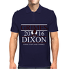 Grimes For President Walking Dead Dixon 2016 Mens Polo