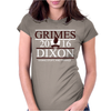 Grimes For President Walking Dead Dixon 2016 Womens Fitted T-Shirt