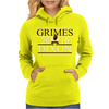 Grimes For President Walking Dead Dixon 2016 Womens Hoodie