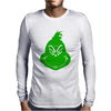 Grinch Smiley Mens Long Sleeve T-Shirt