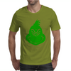 Grinch Smiley Mens T-Shirt