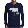 Grizzly Bear Mens Long Sleeve T-Shirt