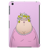 Grndma has her curlers in pink phone and tablet case Tablet (vertical)