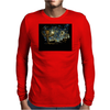 groot Starry night abstrac Mens Long Sleeve T-Shirt