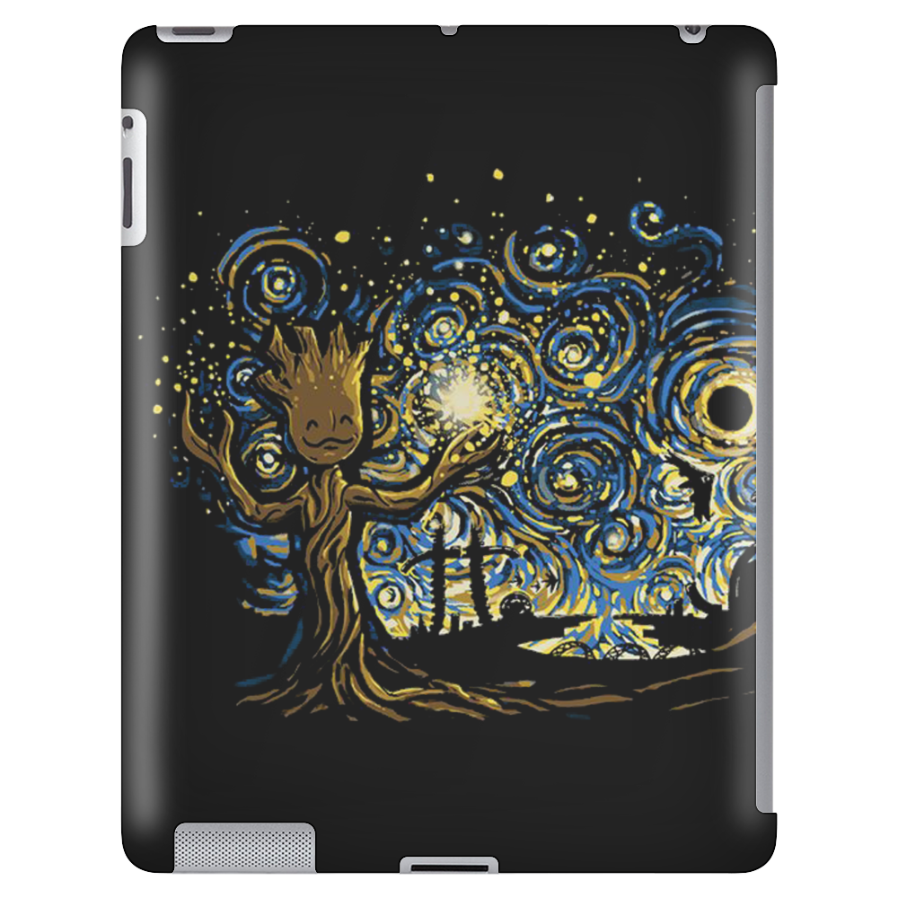 groot Starry night abstrac Tablet
