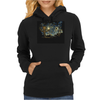 groot Starry night abstrac Womens Hoodie