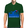 Grover Joke Cloverfield Mens Polo