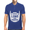 Grow Long And Prosper Funny Mens Polo