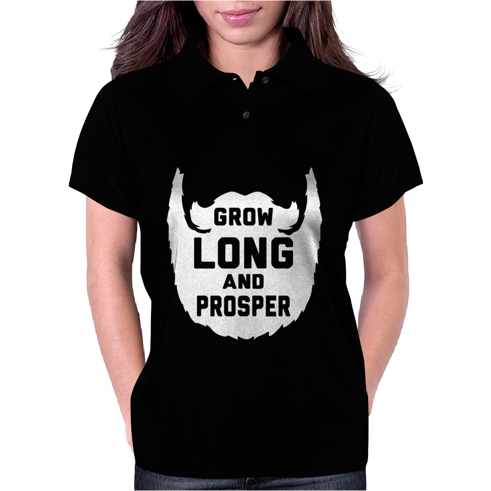 Grow Long And Prosper Funny Womens Polo