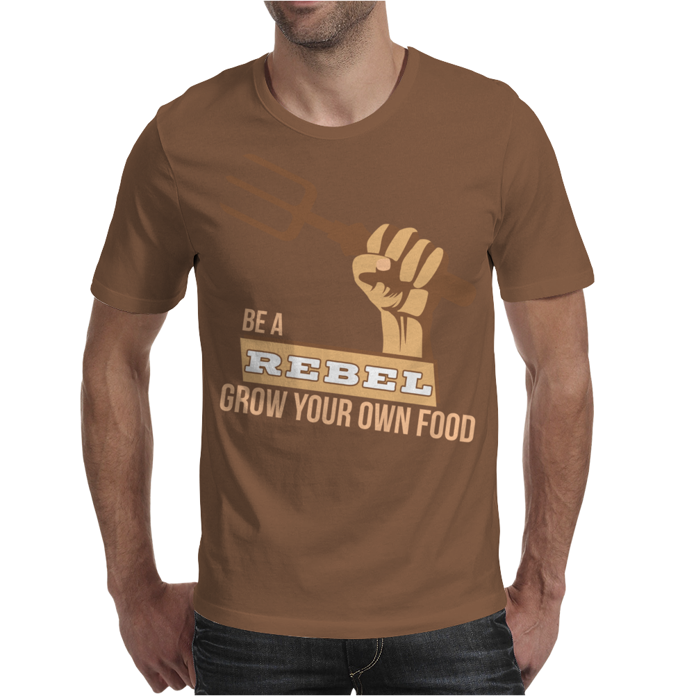 Grow Your Own Food Vegetable Gardening Mens T-Shirt