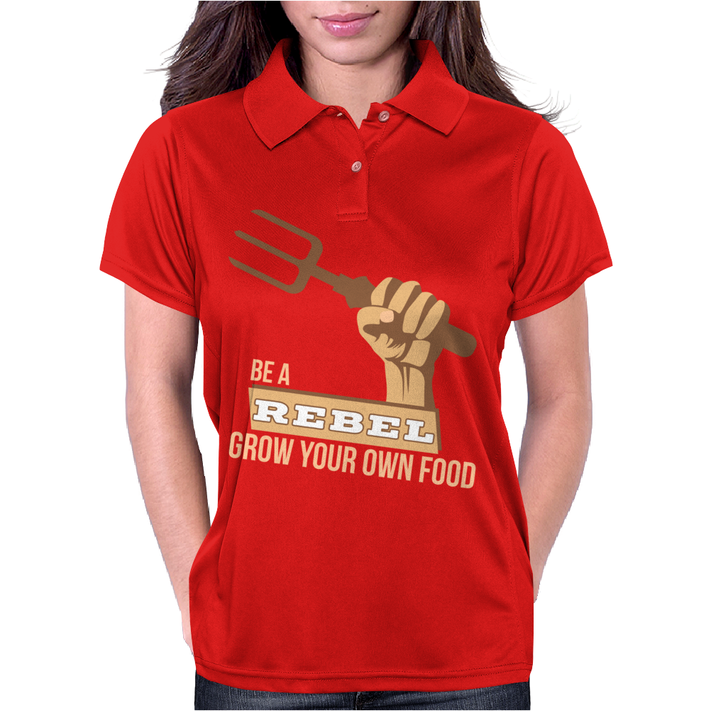 Grow Your Own Food Vegetable Gardening Womens Polo