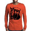 Growley Bear Mens Long Sleeve T-Shirt