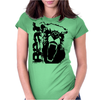 Growley Bear Womens Fitted T-Shirt