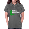Grrr Mr Dinosaur Womens Polo