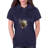 Grunge Shield Womens Polo