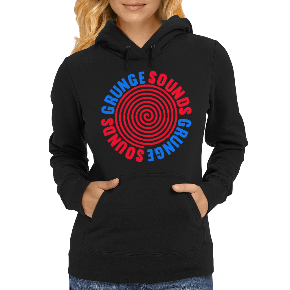 Grunge Sounds Womens Hoodie