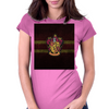 Gryffindor Knitted Womens Fitted T-Shirt