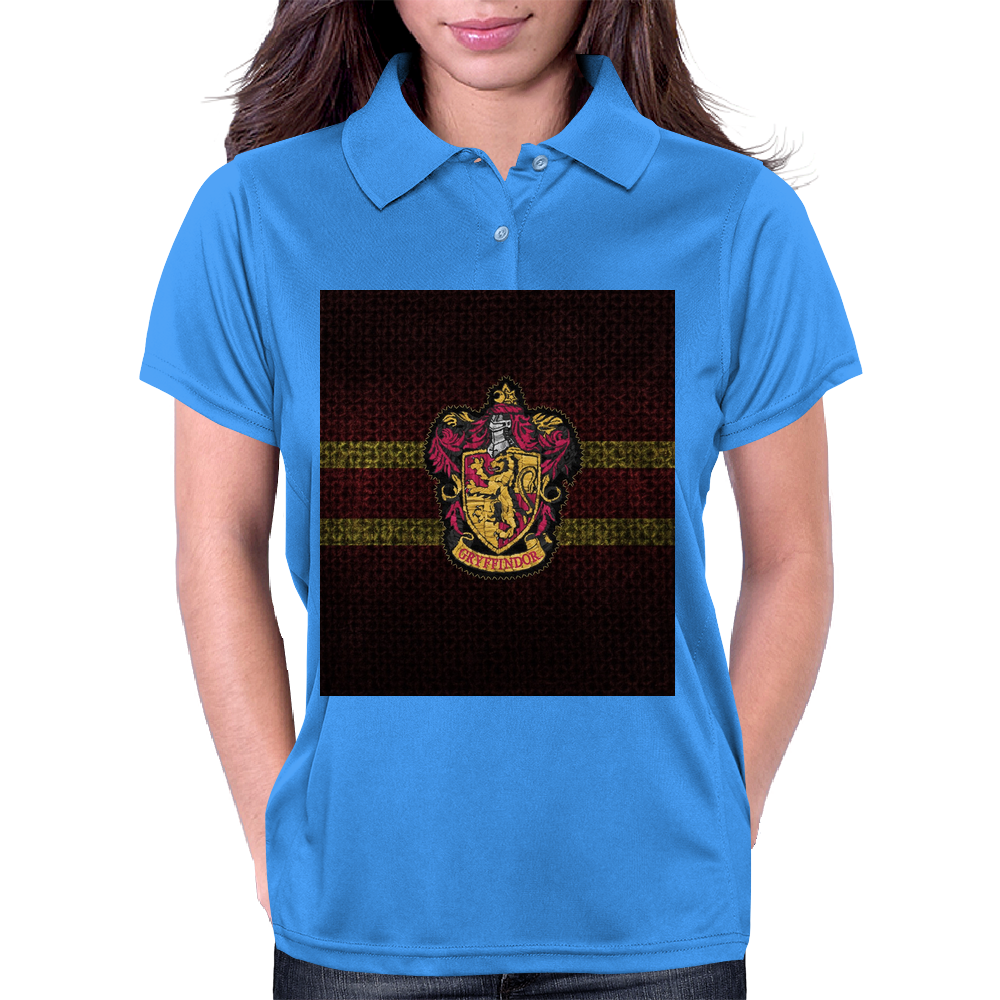 Gryffindor Knitted Womens Polo