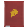 Gryffindor: Red & Gold Lion Tablet (vertical)