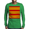 Gryffindor Stripes - Thick Mens Long Sleeve T-Shirt