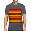 Gryffindor Stripes - Thick Mens Polo