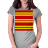 Gryffindor Stripes - Thick Womens Fitted T-Shirt