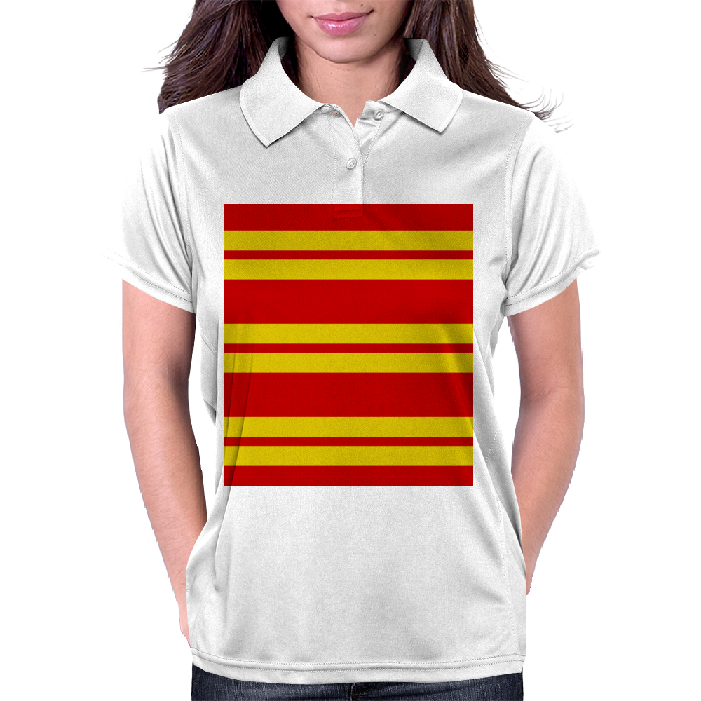 Gryffindor Stripes - Thick Womens Polo