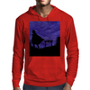 Guardian in the shadows Mens Hoodie