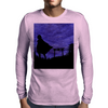 Guardian in the shadows Mens Long Sleeve T-Shirt