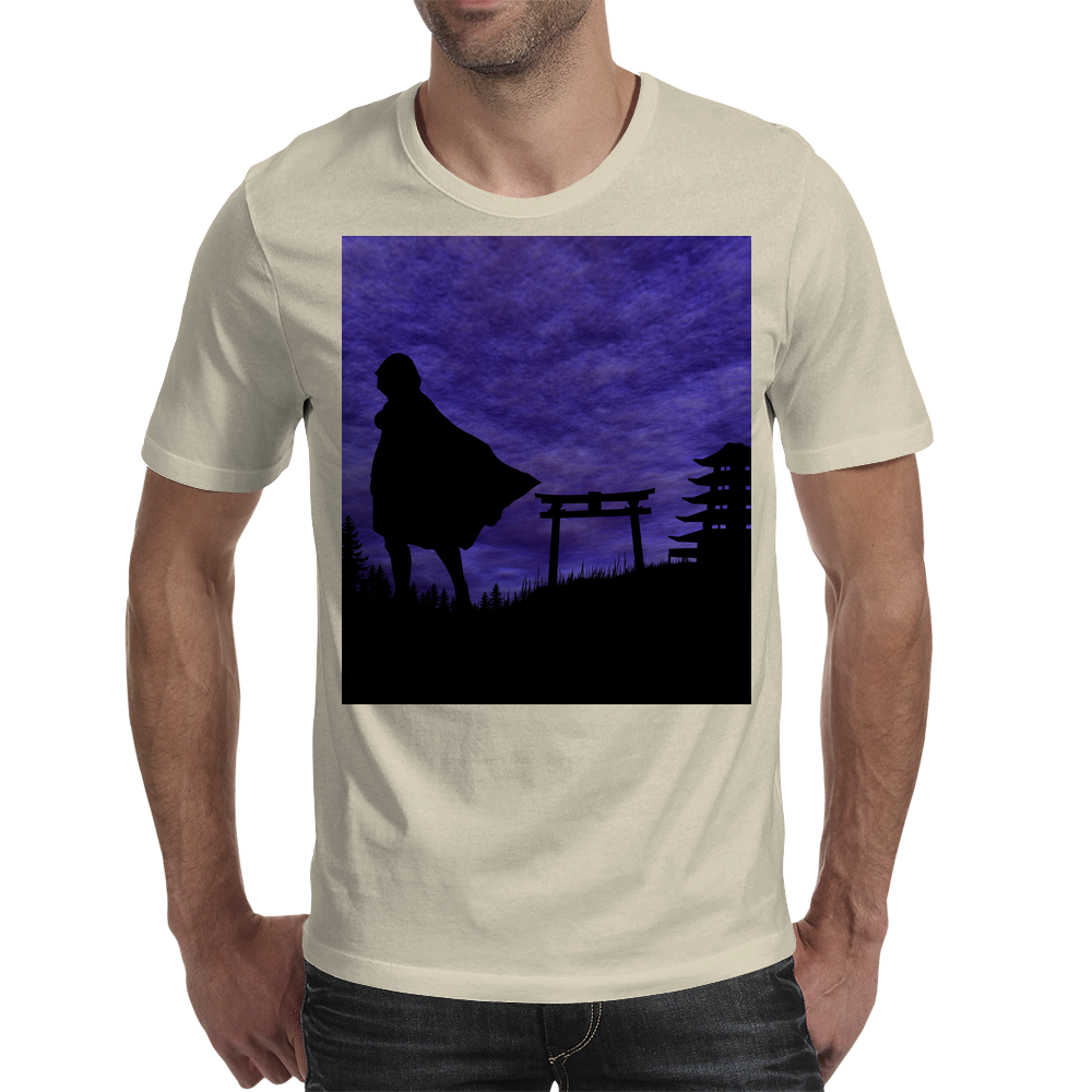 Guardian in the shadows Mens T-Shirt