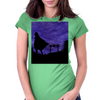 Guardian in the shadows Womens Fitted T-Shirt