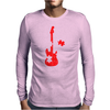 Guitar Puzzle Mens Long Sleeve T-Shirt