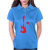 Guitar Puzzle Womens Polo