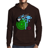 Guitar Retro Music Mens Hoodie
