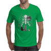 Guitar Skeleton Microphone Rock Music Lovers Mens T-Shirt