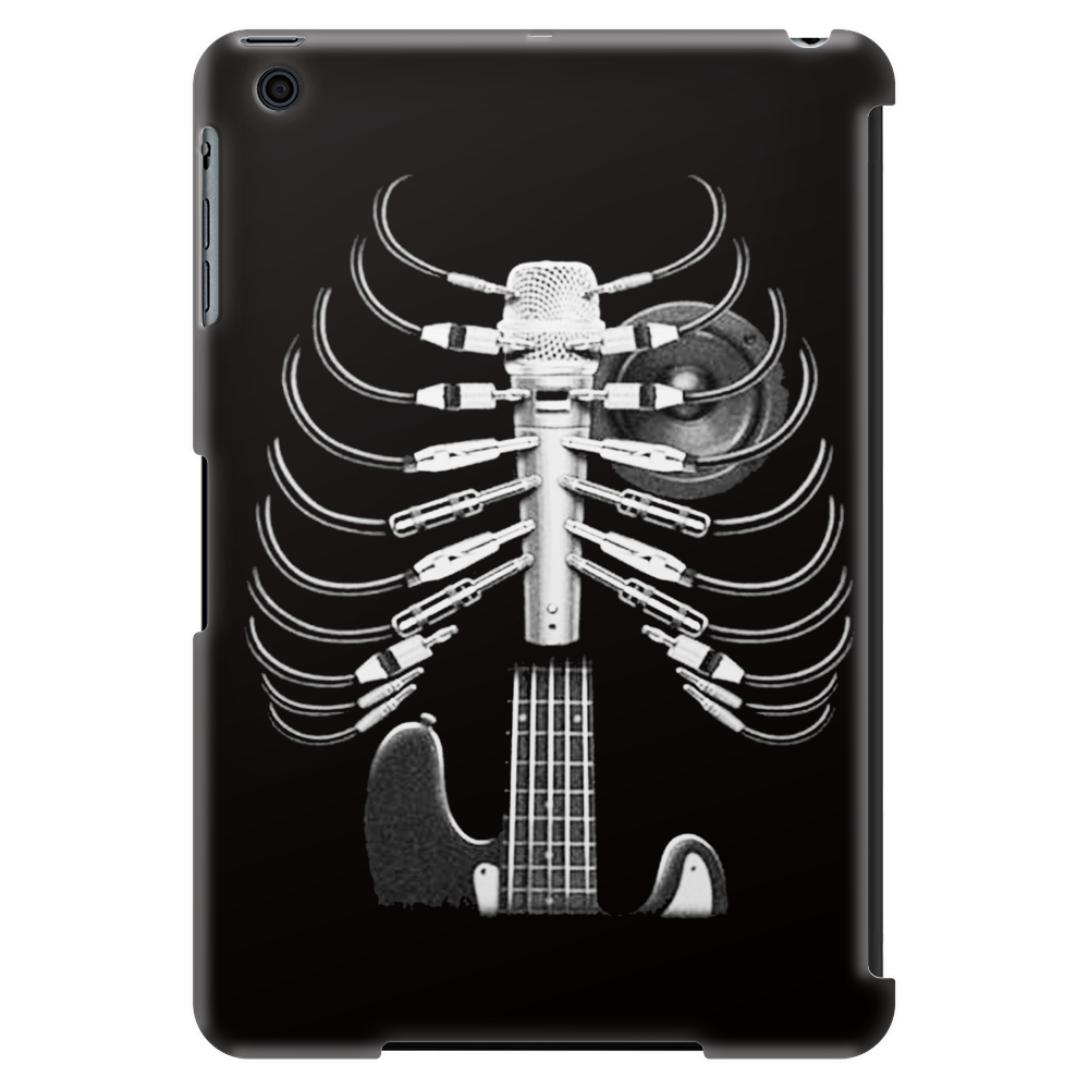 Guitar Skeleton Microphone Rock Music Lovers Tablet
