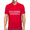Gun Control- Gun Rights Second Amendment 2nd Firearm Bear Arms Mens Polo