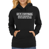 Gun Control- Gun Rights Second Amendment 2nd Firearm Bear Arms Womens Hoodie