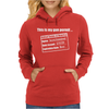 Gun Permit Second Amendment Womens Hoodie