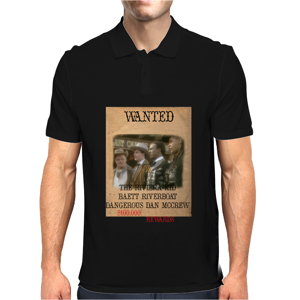 Gunmen of the Apocalypse Reward Poster Mens Polo