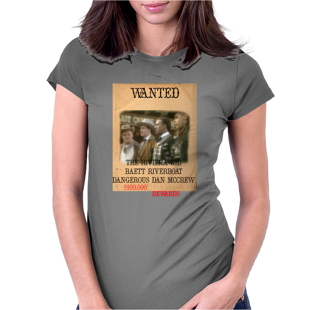 Gunmen of the Apocalypse Reward Poster Womens Fitted T-Shirt