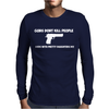 GUNS DON'T KILL PEOPLE DADS Mens Long Sleeve T-Shirt