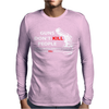 Guns Dont Kill People Mens Long Sleeve T-Shirt