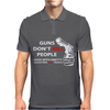 Guns Dont Kill People Mens Polo