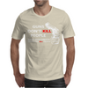 Guns Dont Kill People Mens T-Shirt