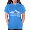 Guns Dont Kill People Womens Polo