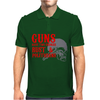 Guns have two enemies rust & amp politicians Mens Polo