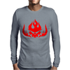 Gurren Lagann Japanese mecha Anime Mens Long Sleeve T-Shirt